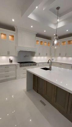 Home Building Design, Home Room Design, Dream Home Design, Modern House Design, Interior Design Kitchen, Dream House Interior, Luxury Homes Dream Houses, Luxury Homes Interior, House Layouts