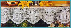 Toca do tricot e crochet Crochet Numbers, Filet Crochet Charts, Lace Applique, Knit Crochet, Diy And Crafts, Crochet Patterns, Cross Stitch, Album, Embroidery