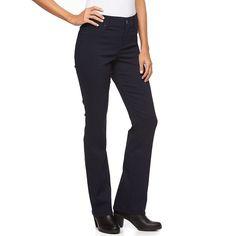 Women's Gloria Vanderbilt Modern Bootcut Jeans, Size: 2 Short, Blue