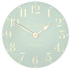Thomas Kent Greenwich Wall Clock - 30cm Duck Egg Blue 12056: Amazon.co.uk: Kitchen & Home