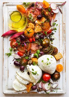 Revamped Caprese Salad