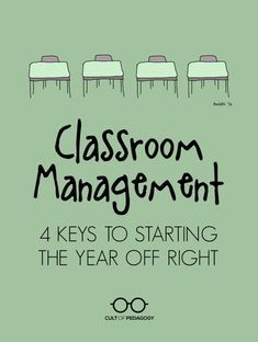 4 Keys to Starting the Year off Right Classroom Management Tips!