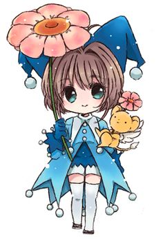 Card Captor Sakura - Chibi Sakura and Kero : Joker