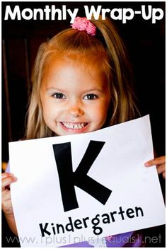 Kindergarten Homeschool Wrap Up from @1plus1plus1