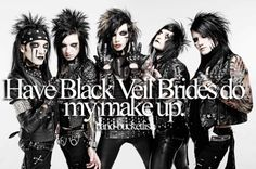 That would be AWESOME!!! I would want mine to be a combination of all five of their makeups <3