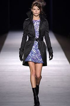 Costume National Fall 2003 Ready-to-Wear Fashion Show - Ennio Capasa, Louise Pedersen