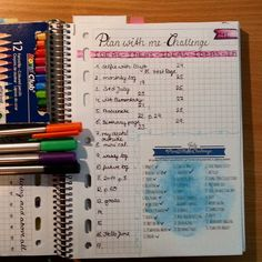"My #favoriteideas ?? The #planwithmechallenge !! :) i love it!! I know its not my idea, but its one of my favorite ideas by other persons :) thank you @prettyprintsandpaper @tinyrayofsunshine and @boho.berry for this idea :) its fun everyday!! (I am especially looking forward for day 16 ""oops""....^^)"