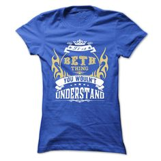 (Tshirt Nice Gift) its a BETH Thing You Wouldnt Understand T Shirt Hoodie Hoodies Year Name Birthday Shirts 2016 Hoodies, Funny Tee Shirts