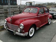 Peugeot 203 découvrable 1949-1954…