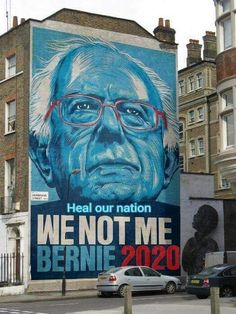 People from around the world have started to support Bernie Sanders as President of the United States. So after getting to know the people that back him, this is what I've learned. Bernie Sanders For President, Presidential Election, Primary Election, Urban Art, Rue, Just In Case, Mount Rushmore, Presidents, Graffiti