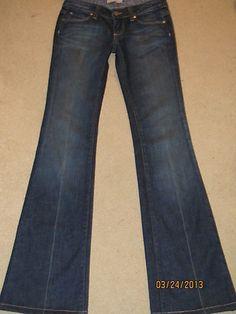 Paige Laurel Canyon Jeans Dark Wash Classic!!