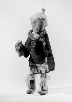 Brooklyn Museum: Arts of the Americas: Kachina Doll (Yaaha)