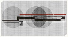 Abstract composition 198 Giclee print - 110 x 60cm Limited edition (25) http://etsy.me/19P6oyw