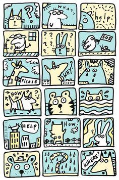 Helpless Animals illustration | Carla Martell