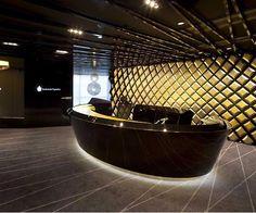 Office Lobby Interior Lighting Design