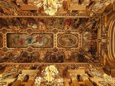 The Ceiling of the Opera Ganier