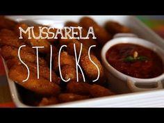 MUSSARELA STICKS | Receita | Torrada Torrada