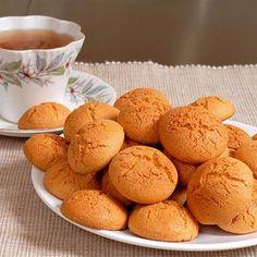 Печенье амаретти с вишней