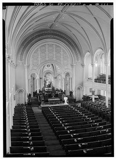 First Presbyterian Church, Binghamton, New York Photo Caption, 4 Photos, Mosaics, Stained Glass, Tiffany, New York, Street, Collection, New York City