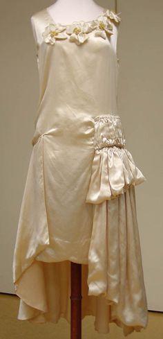 CJH Museum Collections: Wedding dress of Ida Frances Pobliner Parker