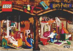 Harry Potter - Alley with shops [Lego 4723]