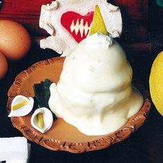 """""""Delizia al limone"""" dello chef Costantino Della Pietà della Pasticceria 'O Funzionista di Sorrento (NA)  #lamadia #lamadiatravelfood #food"""