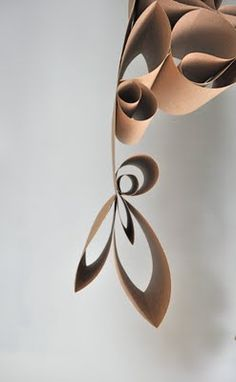 Positivamente Splendid artesanato, costura, receitas e decorao para casa: Tutorial de teto pendente por H  para Handmade