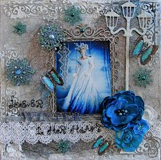 Jadis Queen Of Narnia-Forever Winter In Her Heart-Design Team Work Using The Creativity Kit from this month's Scraps Of Darkness Kit-A Long December