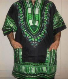 Black History Month Men Dashiki African Shirt Beach Vintage Blouse Boohoo Style #Handmade #Dashiki #Casual