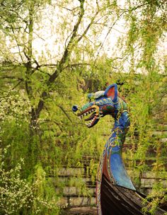 dragon boat at an abandoned amusement park.  Lost Place Urban Exploration  Berlin https://www.facebook.com/ForgottenHideaways Copyright by ForgottenHideaways