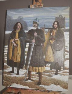 Scottish Warrior, Irish Warrior, Warrior Outfit, Grandeur Nature, Celtic Warriors, Norse Pagan, Highlanders, Arm Armor, Ideas