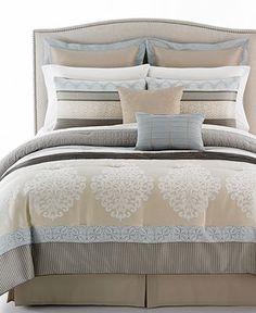 Fontanne 8 Piece California King Comforter Set - Bed in a Bag - Bed & Bath - Macy's