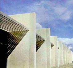 Una Vida Moderna | Detalle de la fachada, Fábrica Automex (hoy...