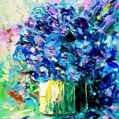 Bouquet of violets by Alena Shymchonak