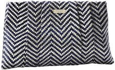 Outlet offer Kate Spade New York Bungalow Breeze April PXRU4138 Clutch,French Navy/Gold,One Size.