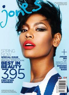 JONES CELEBRATES ITS 3RD ANNUAL BEST IN BEAUTY 2013 AWARDS | Jones Magazine makeup: ronnie peterson