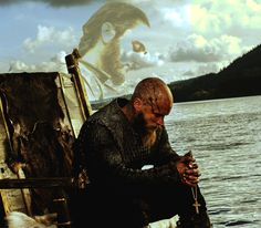 look closely!! Athanstan's spirit, Ragnar crying, and the cross!!! hope I'm wrong!!