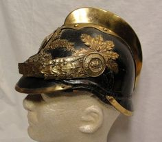 1900's Imperial German Tautendorf Firefighter Fireman Leather Helmet Antique | eBay