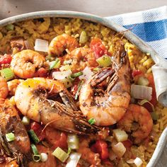 Etouffee is a smothered rice dish popular with Louisiana's Cajuns. This Zydeco Shrimp Etouffee will quickly become a family favorite.