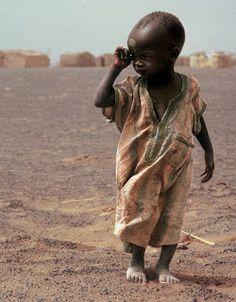 Needy Child of Africa