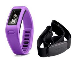 Garmin vivofit™ Purple Bundle Wireless Sync Via using  Bluetooth® Smart technology and USB ANT Stick.