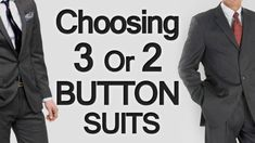 Choosing between 3 Button or 2 Button Mens Suits? – Men Style Tips Mens Fashion Suits, Mens Suits, Men's Fashion, 3 Button Suit, Real Men Real Style, Media Room Design, Baby Shower Decorations For Boys, Anime Hair, 3 Piece Suits