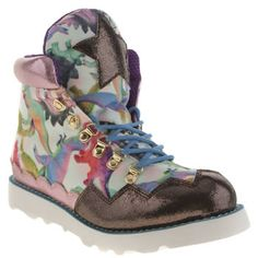 Iced By Irregular Choice Multi Touching The Void Trainers