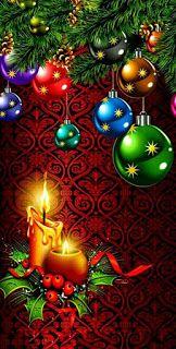 Merry Christmas Wallpaper, Merry Christmas Pictures, Xmas Wallpaper, Winter Wallpaper, Christmas Scenes, Christmas Art, Christmas Greetings, Christmas Bulbs, Christmas Decorations