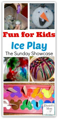Fun for Kids: Ice Play from JDaniel4's Mom