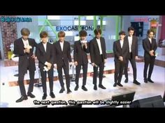[ENG] 150406 EXO Naver Cast - Game Cut - YouTube