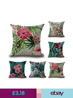 Peiyuan harajuku floral cotton linen seat chair pillowcase covers decorative pillow covers ebay home furniture diy gumiabroncs
