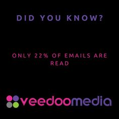 Did You Know? 🤔💬💡 . Only 22% of emails are read . 🥇🏆 Digital Marketing Agency Helping Small Businesses Grow Online, Innovate & Transform . 🎯 Digital Marketing 🧩 Consultancy 🛒 eCommerce 🖥 Web Design . 📈 Work With Us to Grow Your Business Online and Get Ahead of Your Competitors . 🔗 www.veedoomedia.com . Follow Us 👉 @veedoomedia 👈 to Get More Valuable Insights into Digital Marketing . . . . . #sem #digitalmarketing #onlinemarketing #internetmarketing #business #ecommerce… Internet Marketing, Online Marketing, Digital Marketing, Ecommerce Web Design, Growing Your Business, Small Businesses, Did You Know, Online Business, Innovation