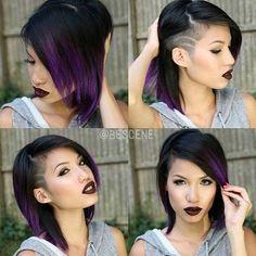 medium+haircut+for+girls+with+temple+undercut