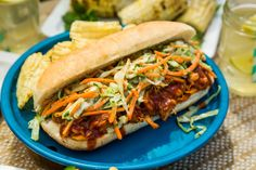 Who wouldn't love a #RootBeer Pulled Chicken Sandwich?! For more delicious barbecue inspired recipes, tune in to Home & Family weekdays at 10a/9c on Hallmark Channel! (Sandwich Recipes For Party)